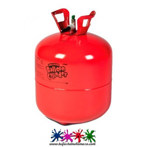 Pack helio con 45 globos luminosos led blancos tu fiesta - Botella de helio barata ...