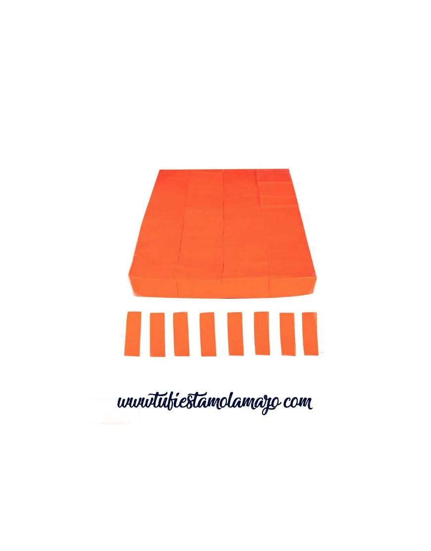 Confeti Rectangular Fluorescente