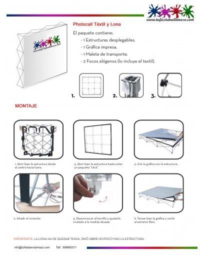 Photocall Textil