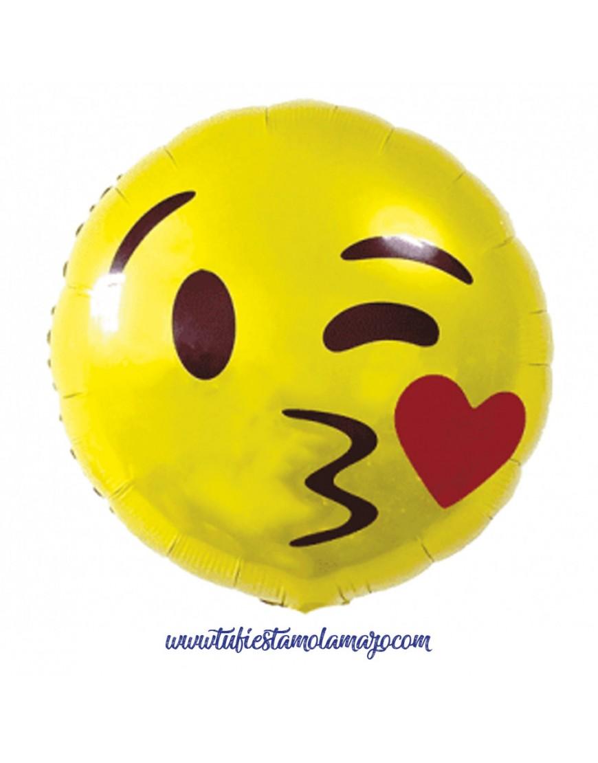 emoji de corazón, carita de emoticonos