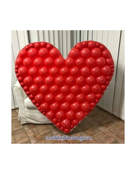 Mosaico Forma Corazón