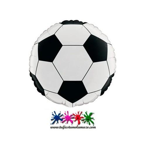 Globo de foil de balón de fútbol
