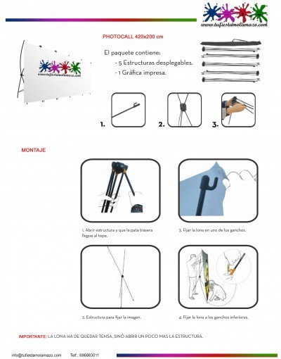 photocall diseño infantil
