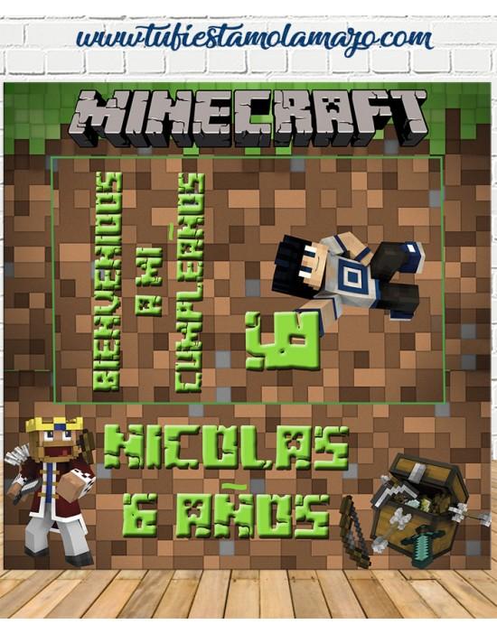 Photocall Minecraft