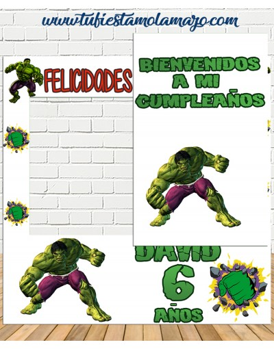 Photocall increible Hulk