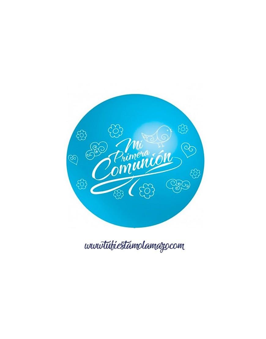 Globos gigantes COMUNION Azul Celeste