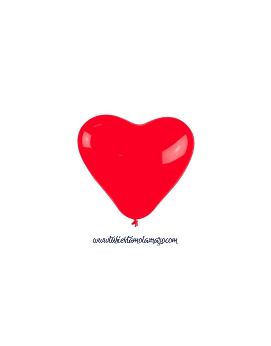 Globos corazón