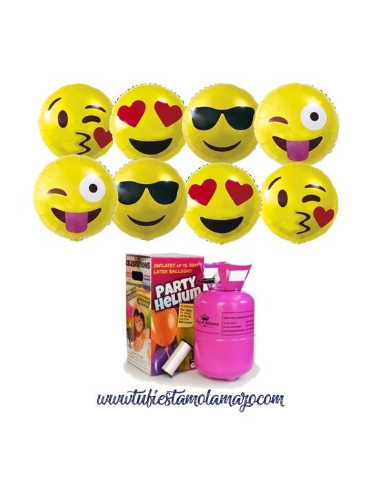 Pack de helio y emoji