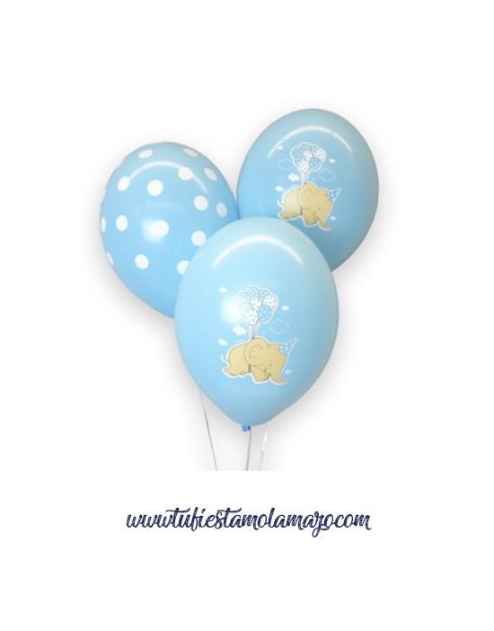 Globos Dumbo Azul Baby