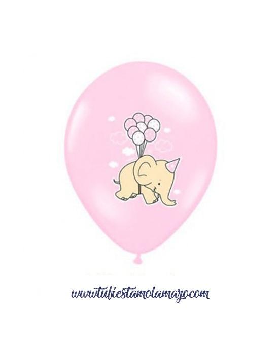 Globos Dumbo Rosa Baby