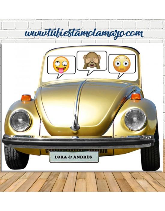 Photocall coche Volkswagen