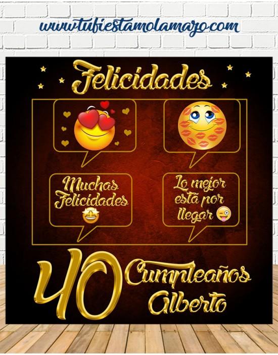 Photocall de Cumpleaños