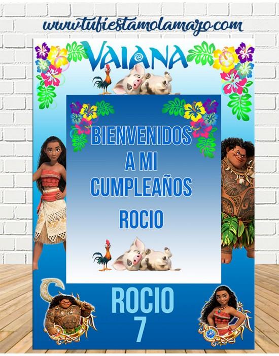 Photocall cartel Vaiana