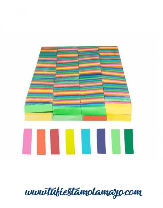 Confeti rectangular
