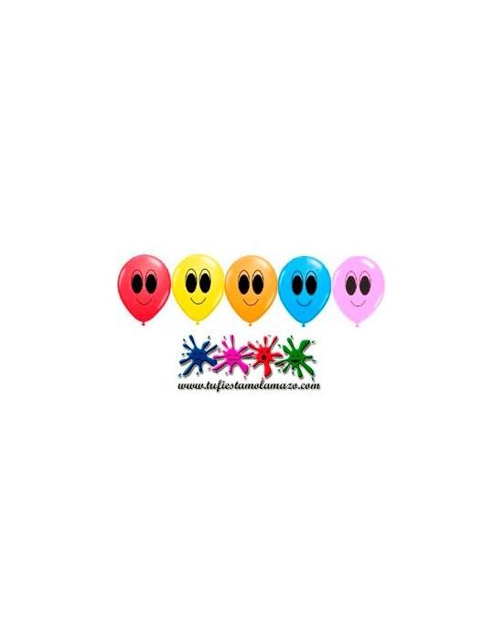 25 x Globo de látex de colores muy atentos