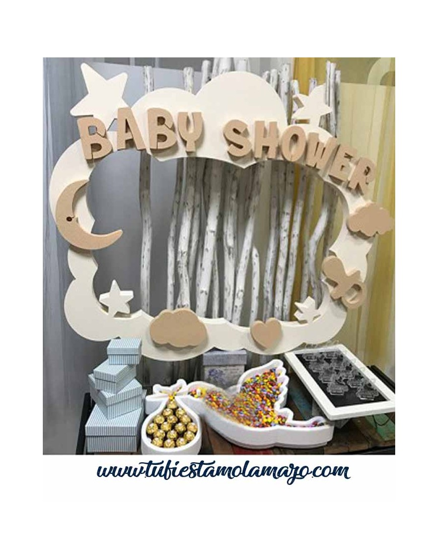 Photocall Babyshower Corcho
