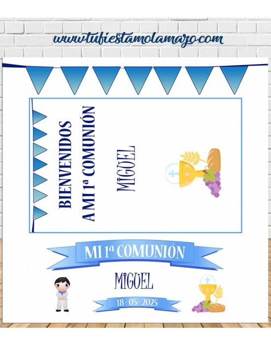 Photocall Marco Comunión