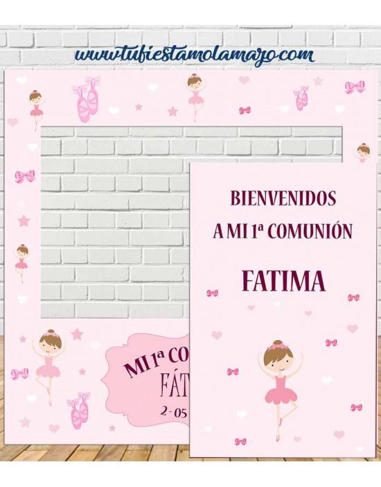 Photocall Comunión Bailarina