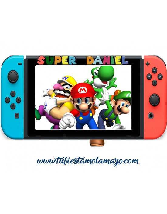 Photocall Consola Nintendo Switch