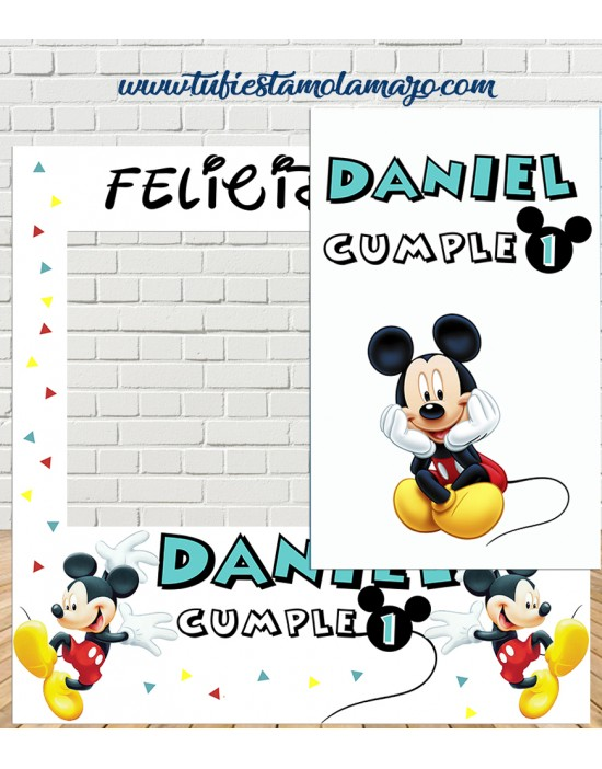 Photocall Mickey Mouse