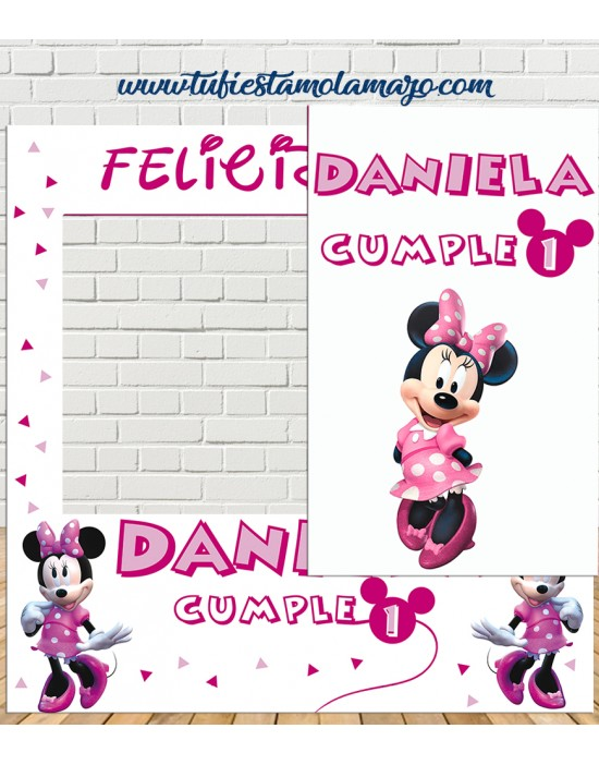 Photocall Minney Mouse