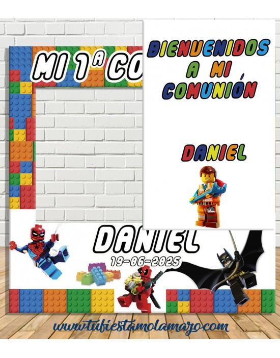 Photocall Comunión LEGO
