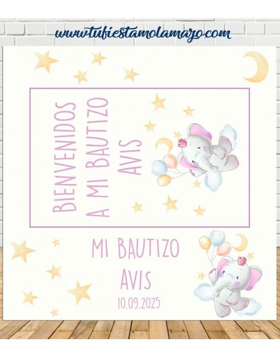 Photocall bautizo