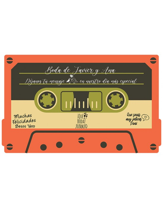 Tarjeta Gigante de Cassette