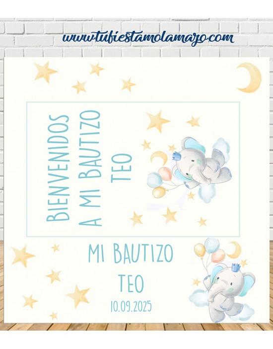 Photocall de Bautizo de...