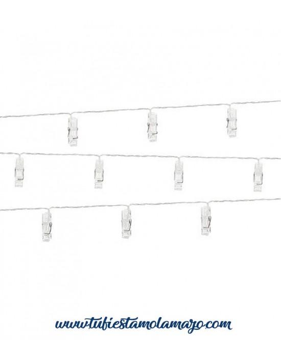 Cinta de clips LED para sujetar fotos