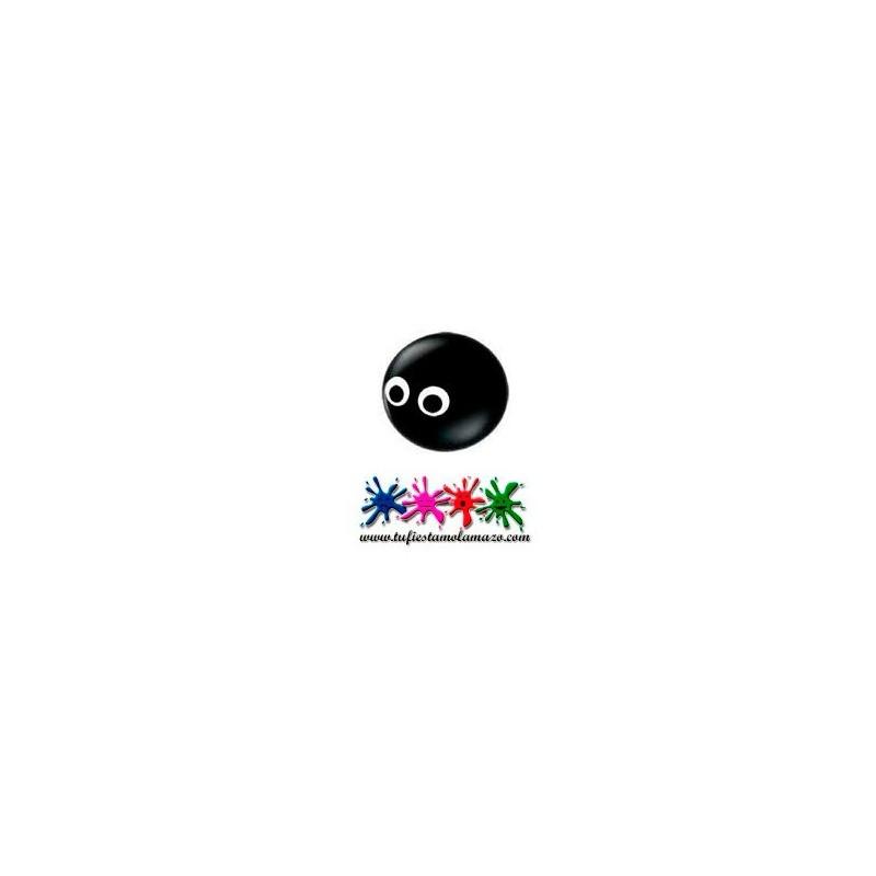 Globo cabeza de araña negra