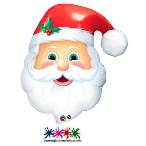 Globo de foil de Papa Noel