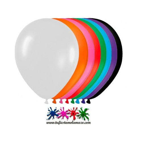 Globos DECO Latex 28cm Mate