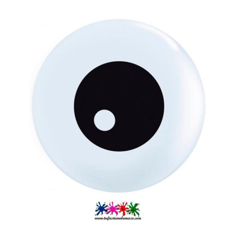 Globo látex de ojo intimidador