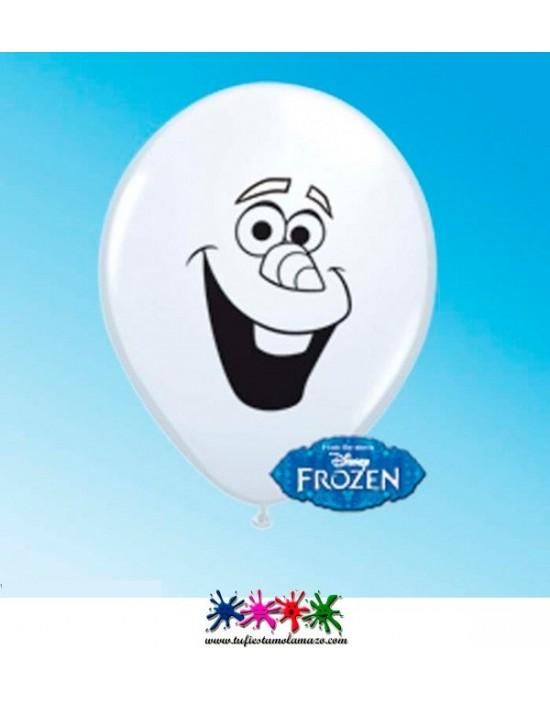Globo de látex de Olaf, de Frozen