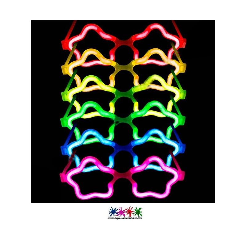 Gafas luminosas de estrella
