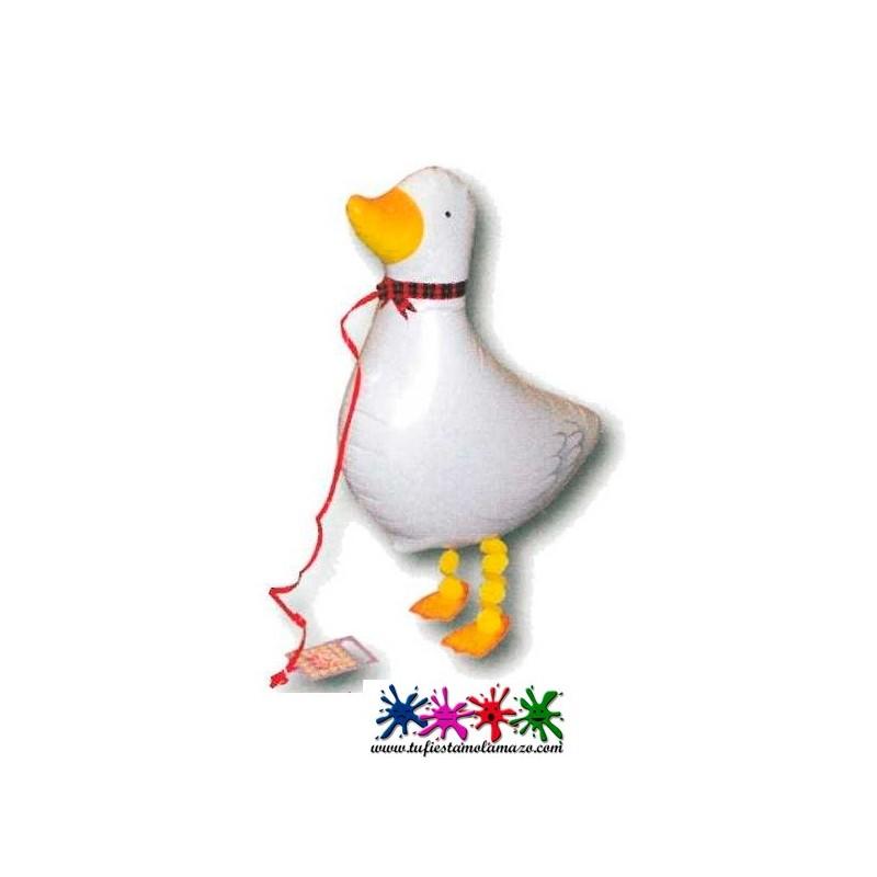 Globos de foil andadores Pato