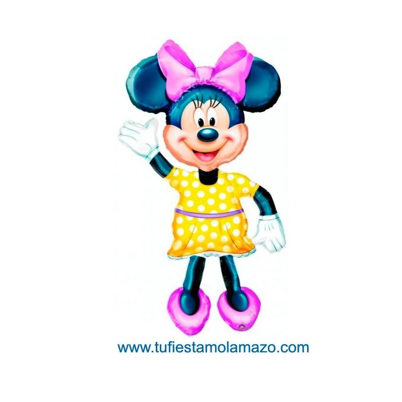 1 x Globo de foil de Minnie Mouse 132 cm.