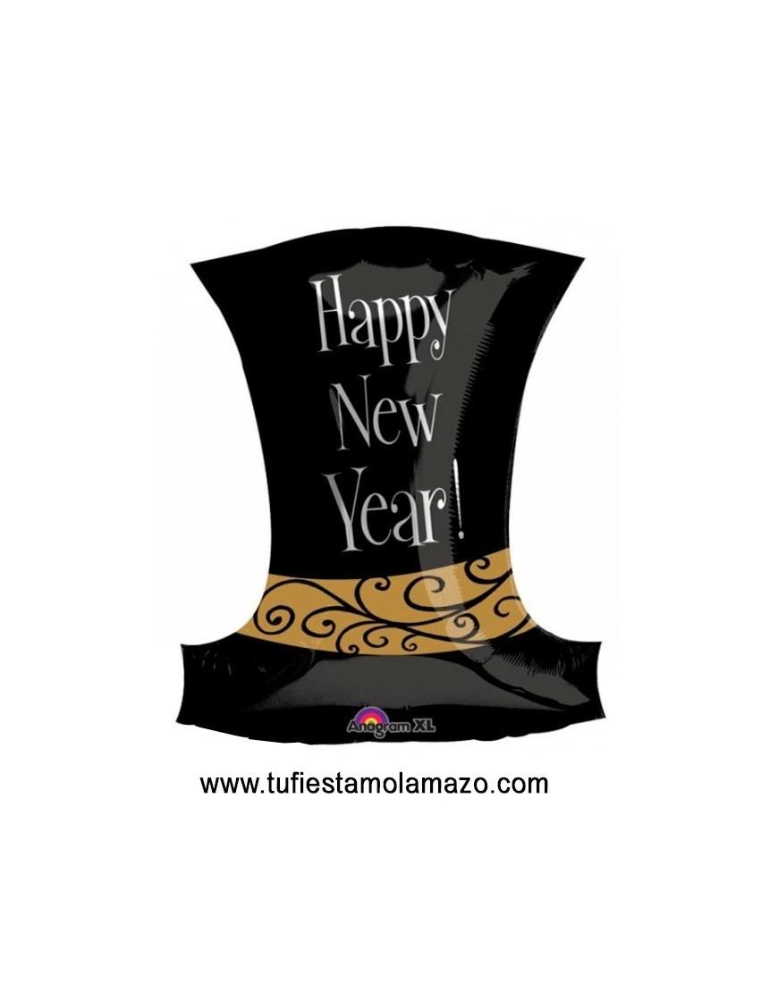 Globo Foil sombrero Happy New Year