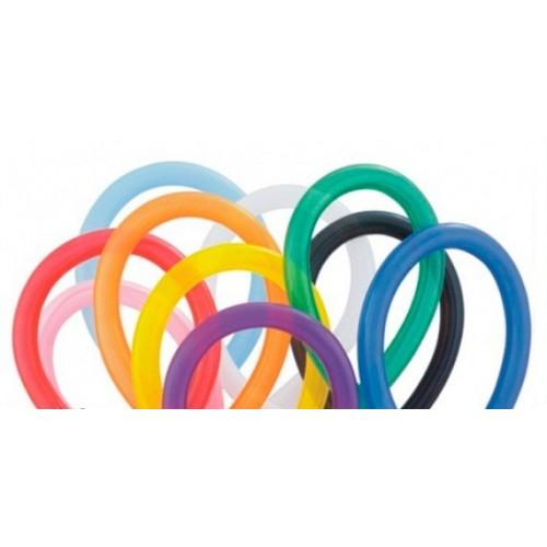 Globos para globoflexia color variado 350q.