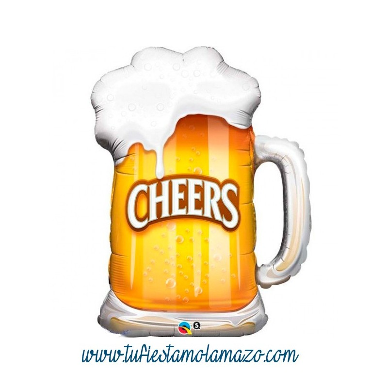Globo jarra de cerveza tu fiesta mola mazo for Jarras para cerveza