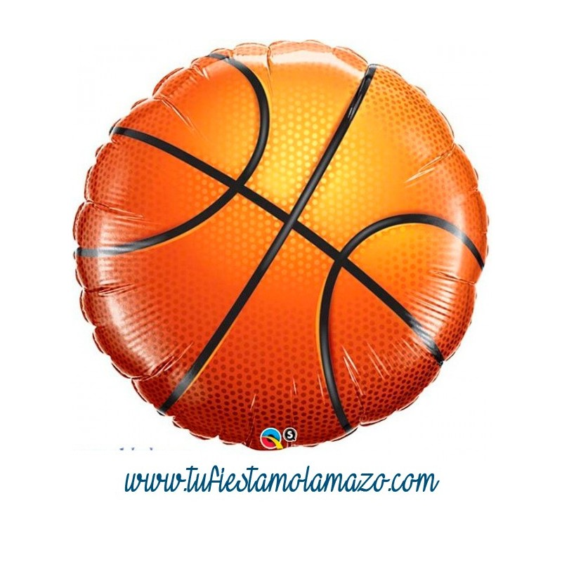 Globo de foil pelota basket