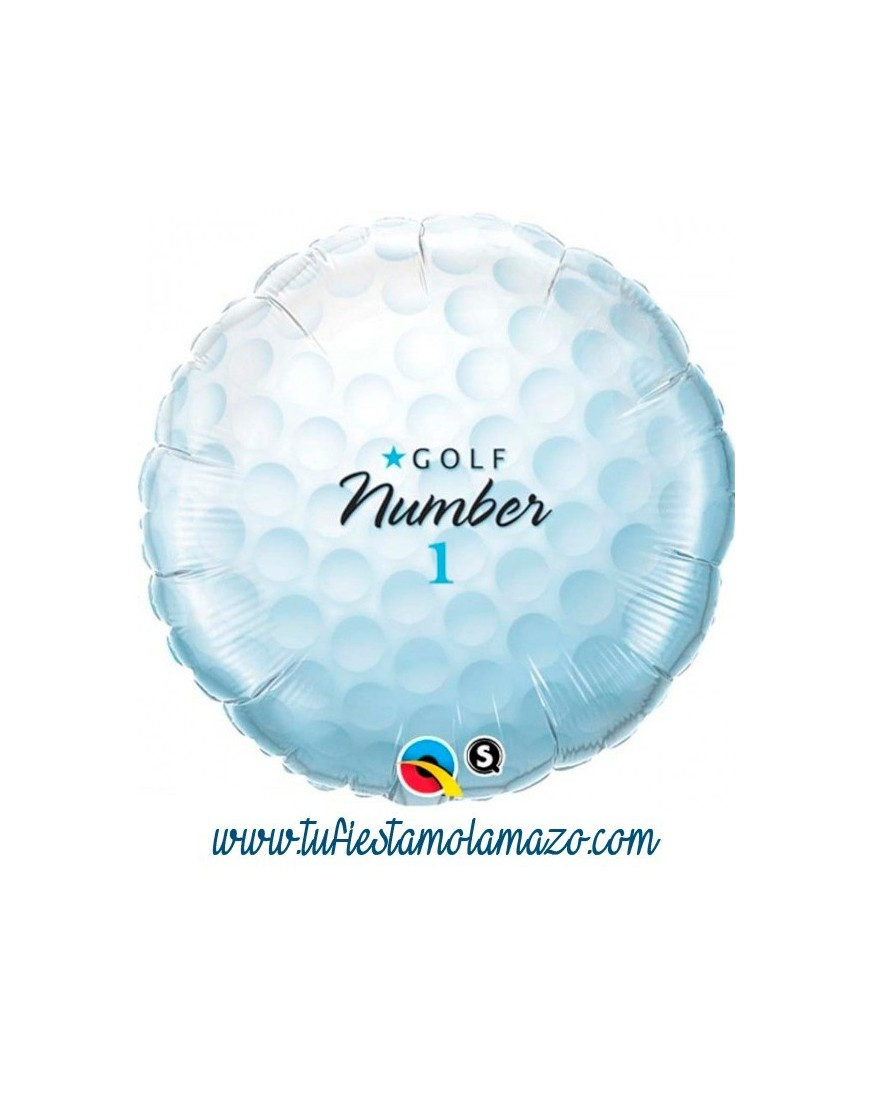 Globo de pelota golf