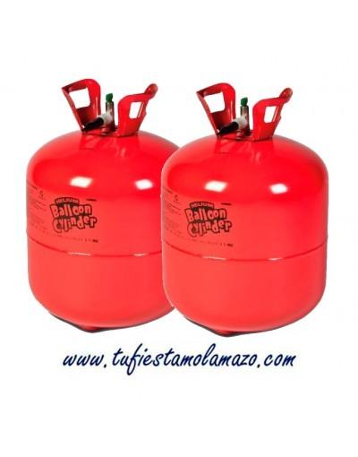 2 x Botella de helio grande