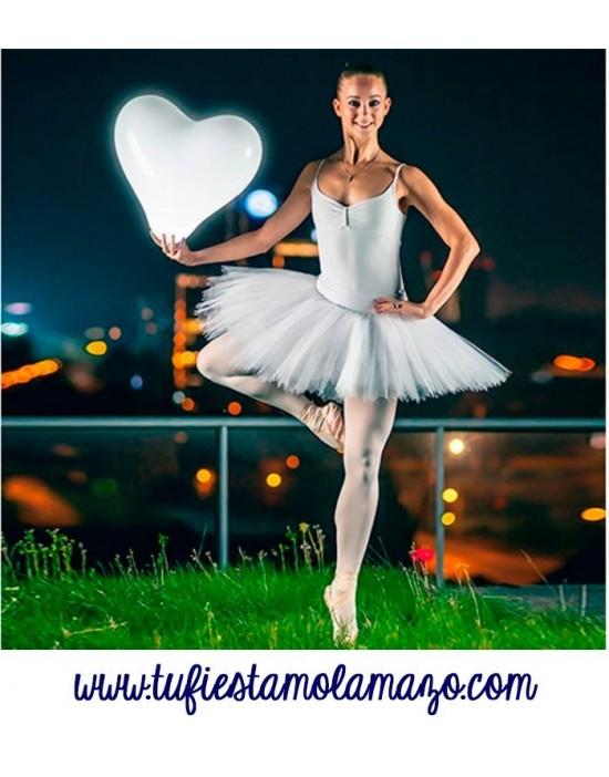 Globos luminosos LED corazón
