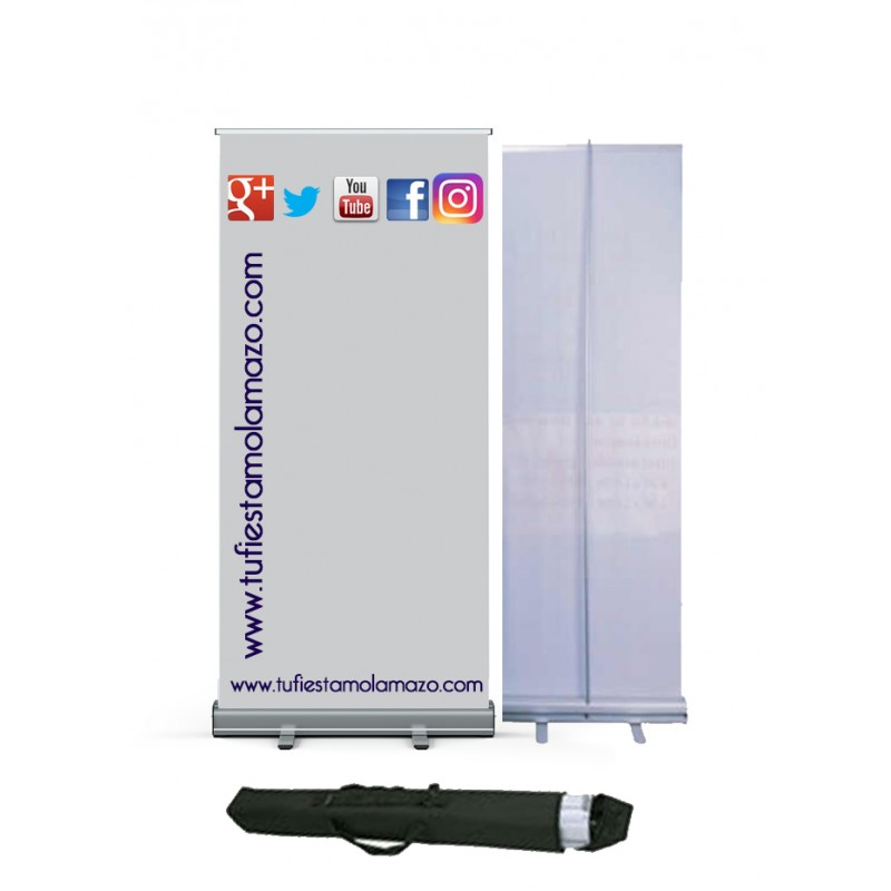 Photocall Roll Up de 85 x206 cm