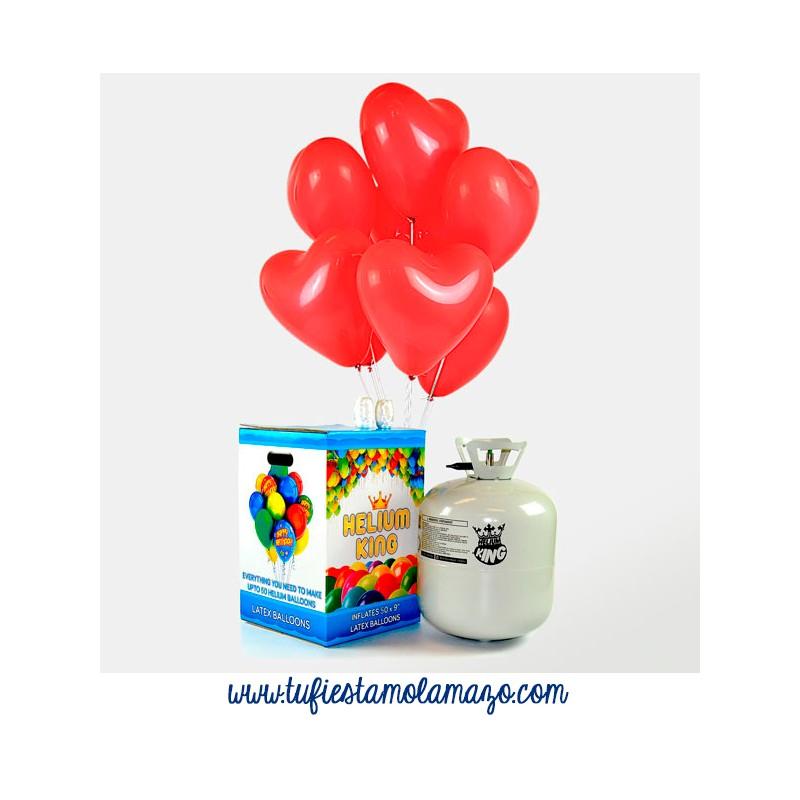 Pack Helio San Valentin Rojo