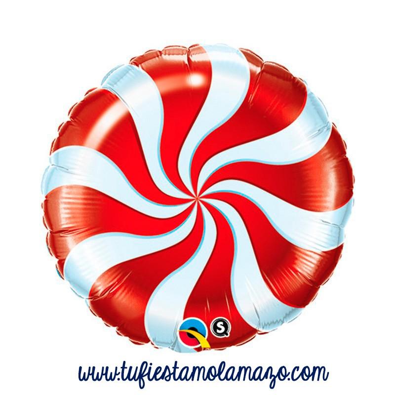 Globo de foil redondo de caramelo