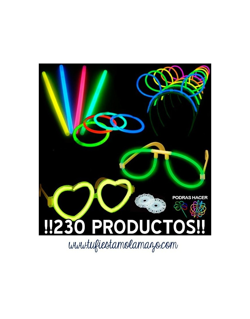 Pack luminoso fluorescente