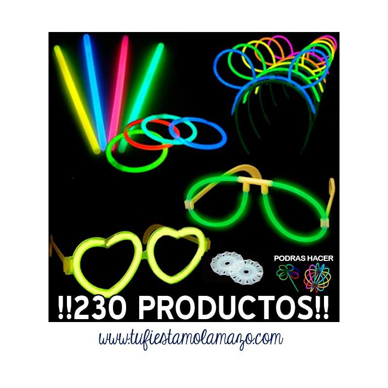 Pack luminoso fluorescente